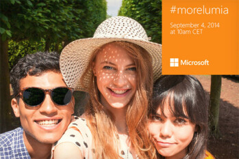 Microsoft Lumia 730 'selfie phone' is coming, and even its teaser is a selfie