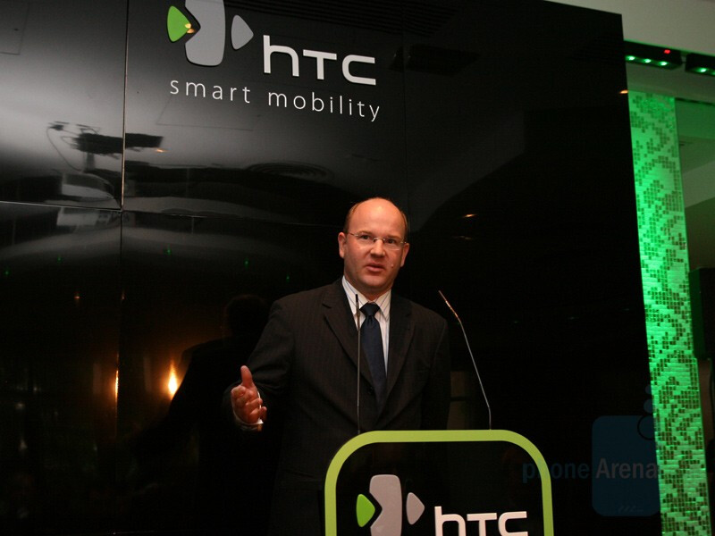 Florian Seiche, Vice President of HTC Europe - HTC Product Launch - October 1