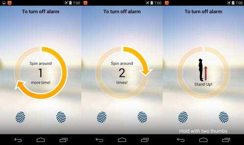 SpinMe Alarm Clock