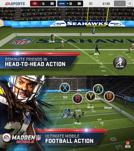 Nfl Mobile Iphone Download Madden Nfl Mobile Free Download M