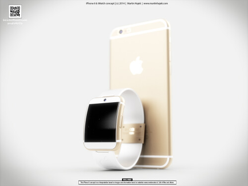 Apple iWatch concept shows dreamy curves, iPhone-esque looks