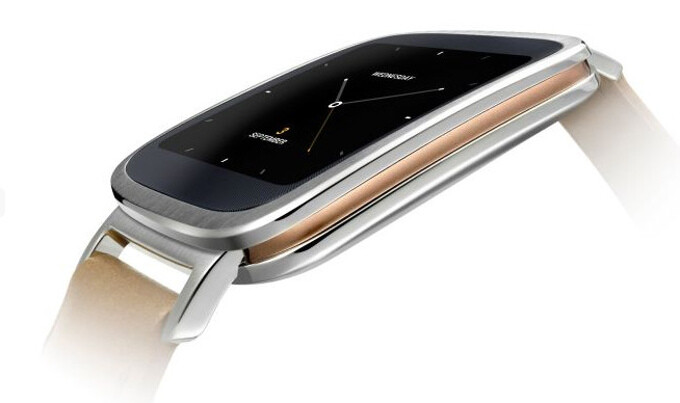 Asus unveils the ZenWatch, an Android Wear smartwatch with head-turning design