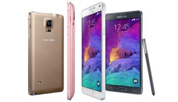 Samsung Galaxy Note 4 versus its rivals: size comparison