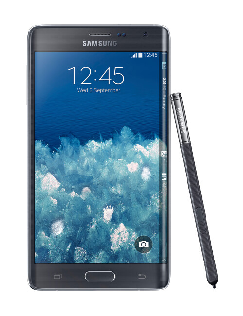 A phone with an edge: Samsung Galaxy Note Edge with curved screen is official