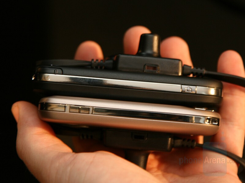 next to the Touch (below) - HTC Touch Dual - HTC Product Launch - October 1