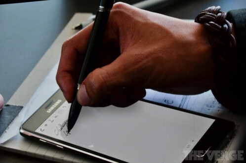 Samsung Galaxy Note 4 gets fancier S Pen from Montblanc