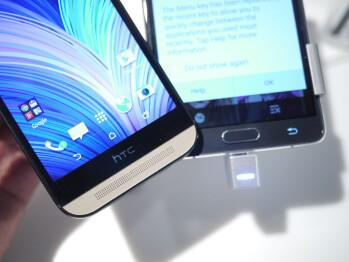 Note 4 vs HTC One (M8)