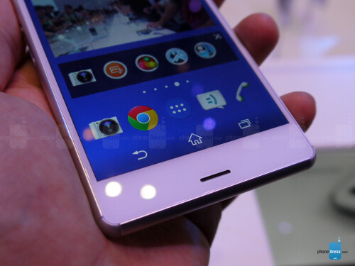Xperia Z3 in white