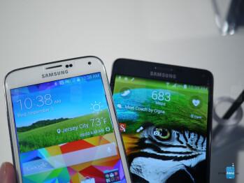 Note 4 vs Galaxy S5