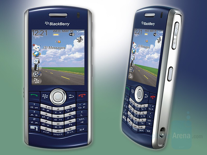 BlackBerry Pearl with WiFi