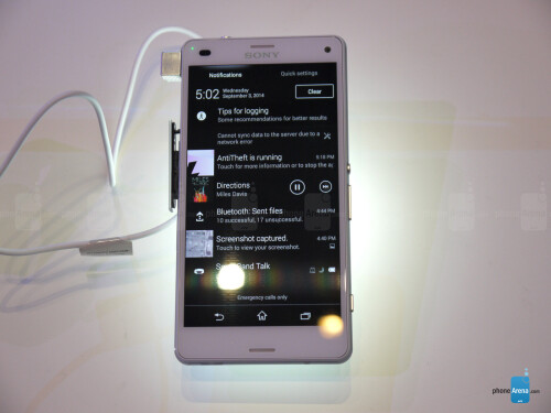 Sony Xperia Z3 Compact hands-on