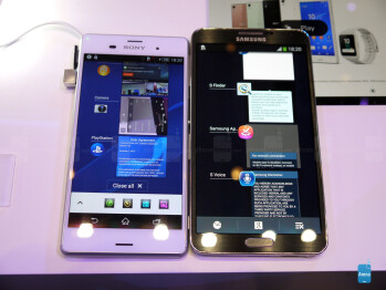 Xperia Z3 vs Note 3