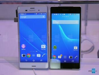 Sony Xperia Z3 vs Sony Xperia Z2: first look