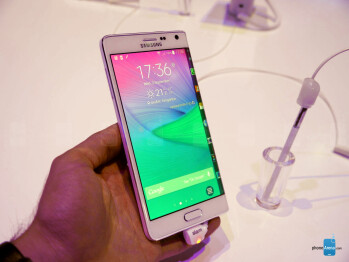 Samsung Galaxy Note Edge hands-on