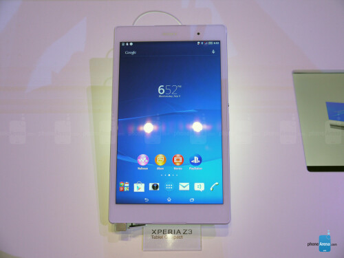 Sony Xperia Z3 Tablet Compact hands-on