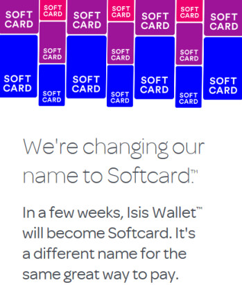 ISIS is changing its name to Softcard