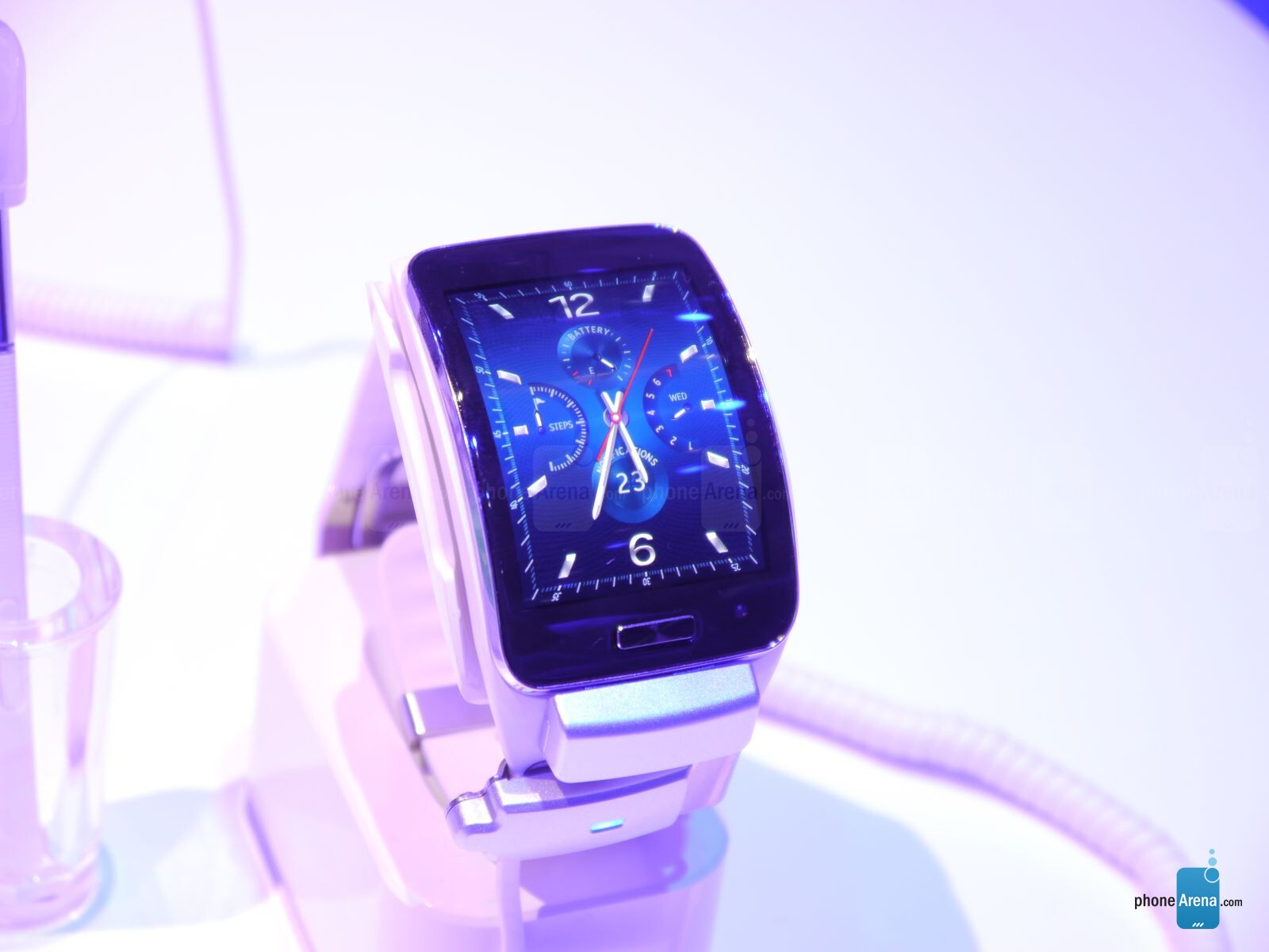 Samsung Gear S Smart Watch Hands On Phonearena Reviews Phonearena