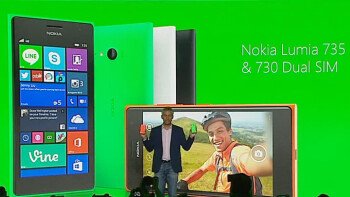 Nokia Lumia 730 'selfie phone' goes official, takes a jab at Samsung