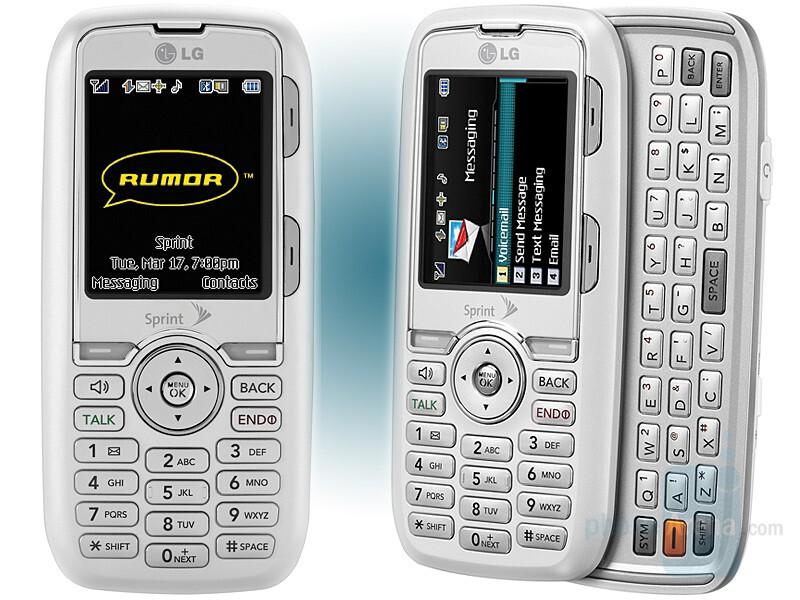 LG Rumor for Sprint - LG Rumor is basic messaging phone for Sprint