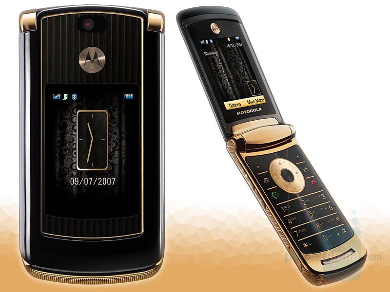 Motorola RAZR2 V8 Luxury Edition - Motorola U9 and Luxury Edition RAZR2 V8 announced