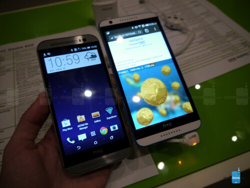 HTC Desire 820 vs HTC One (M8): first look