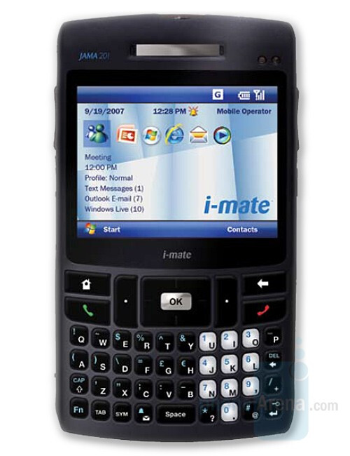 JAMA 201 - i-mate shows two new phones