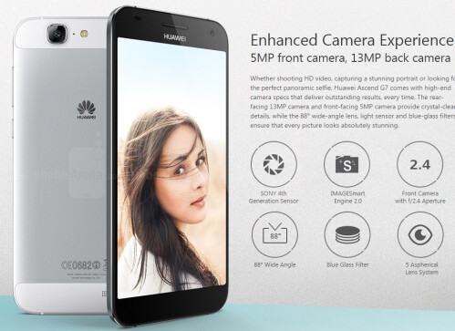 Huawei announces the 5.5-inch Ascend G7 with 64-bit ...