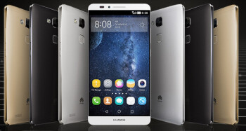 Huawei announces the Ascend Mate 7, a metal-clad 6-inch behemoth with a 4,100mAh battery