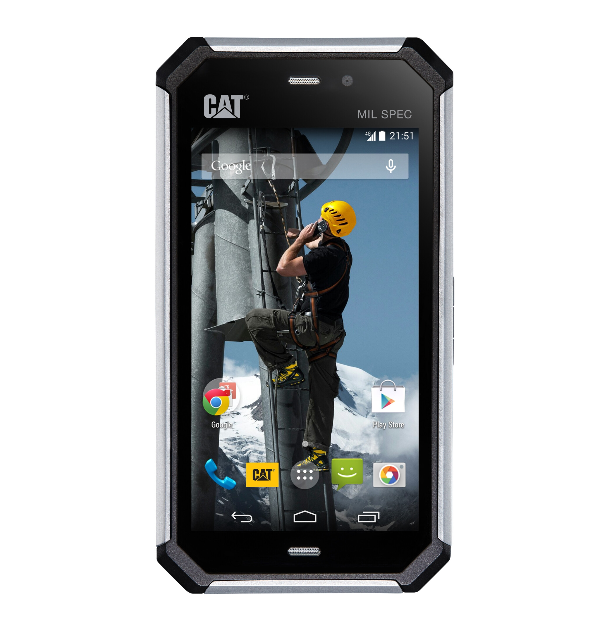 Cat's New S50 Rugged Smartphone Features LTE, Snapdragon