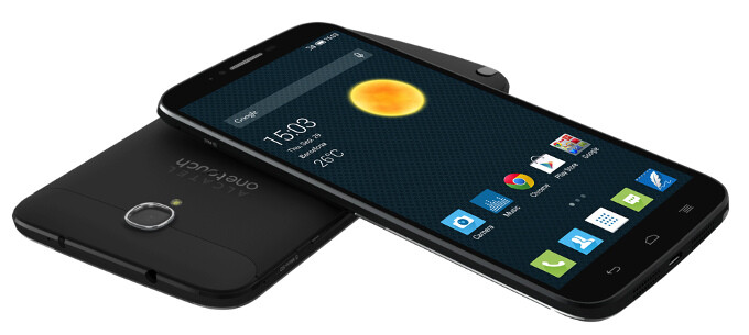 """Alcatel unveils the 6"""" OneTouch Hero 2 phablet - aluminum-clad, stylus-toting behemoth with curios accessories"""