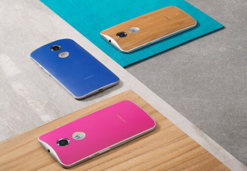 New Moto Maker customization options, including leather