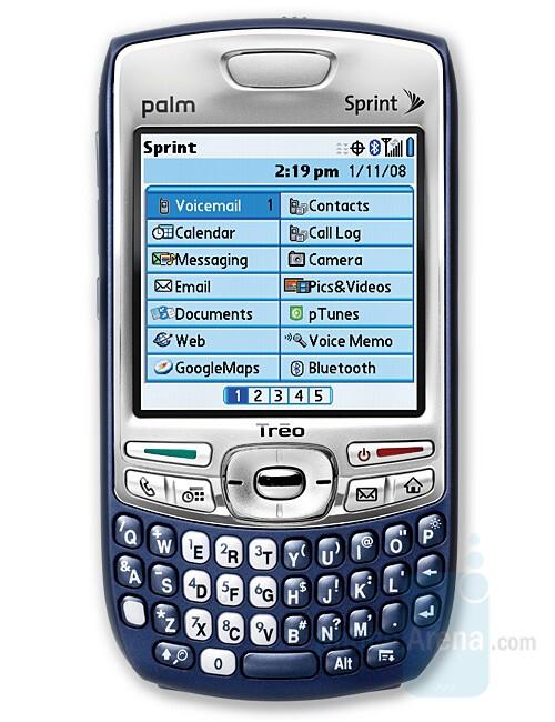 Palm Treo 755p - Verizon to offer four new smartphones
