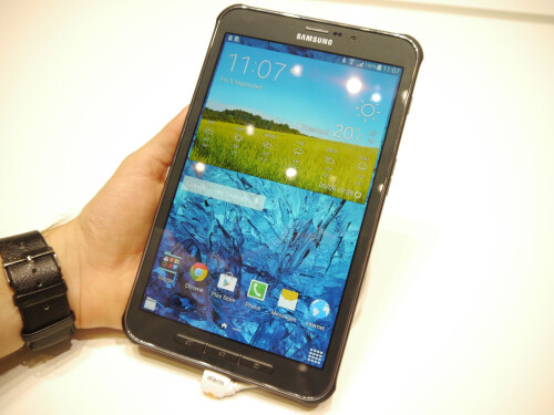 Galaxy Tab Active hands-on