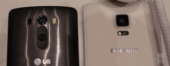 Samsung Galaxy Note Edge vs LG G3: first look
