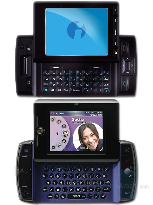 i-mate 9502 above Motorola Sidekick Slide - i-mate announced two new smartphones