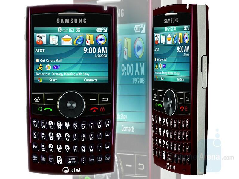 Samsung BlackJack II - Samsung BlackJack II announced for AT&T