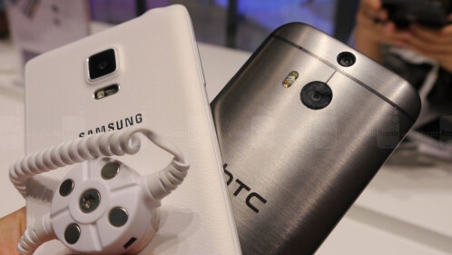 Samsung Galaxy Note Edge vs HTC One (M8): first look