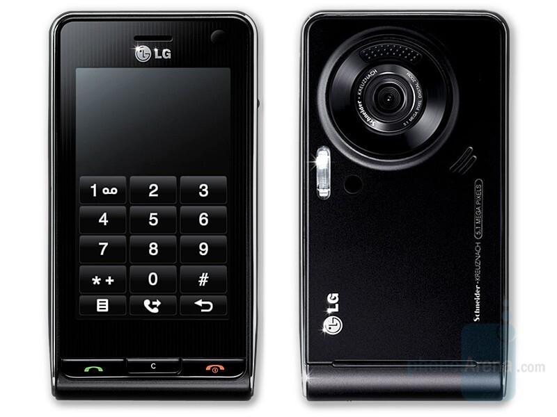 LG Viewty KU990 - LG Viewty out on the market