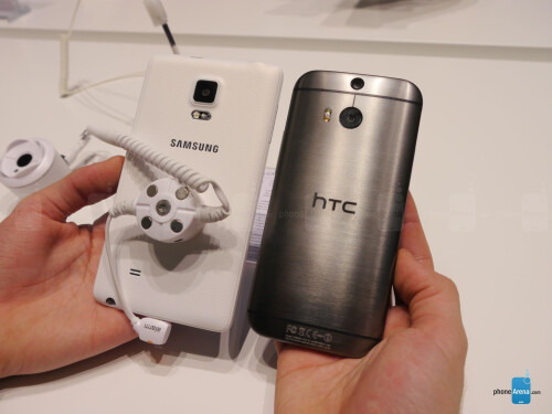 Samsung Galaxy Note Edge vs HTC One (M8)