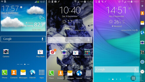 Note 3 vs Note 4 vs Note Edge
