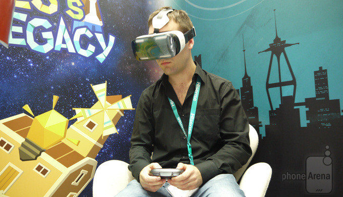 Samsung Gear VR hands-on: we dive into virtual reality