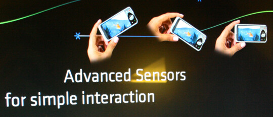 Landscape adjusting system - The future features of the S60 interface