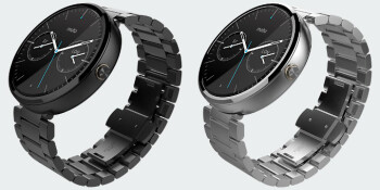 Moto 360 with metal strap available for pre-order from Verizon