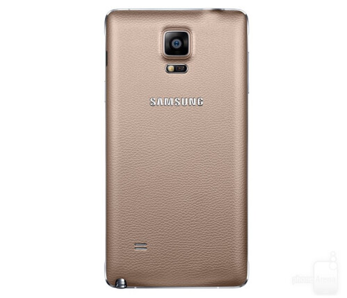 Samsung Galaxy Note 4 in gold
