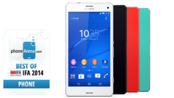 Xperia Z3 Compact, Sony's new 'do-all-stay-small' phone, which combines top-notch specs with compact dimensions, is PhoneArena's choice of best smartphone of IFA 2014.