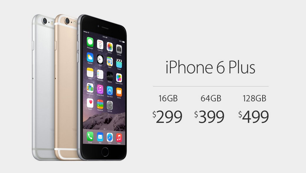 iphone 6 plus prices apple iphone 6 and iphone 6 plus price and release date 5079