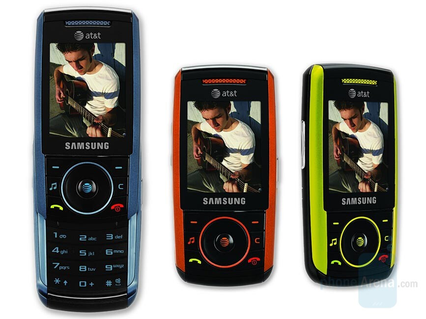Samsung SGH-A737 - Samsung A737 and LG CU515 available with AT&T