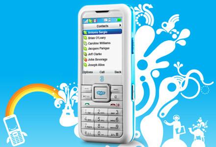 3 Skypephone - First Skypephone announced