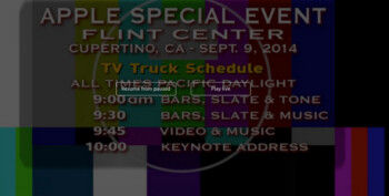 apple s live stream fails during the first hour of the company s event