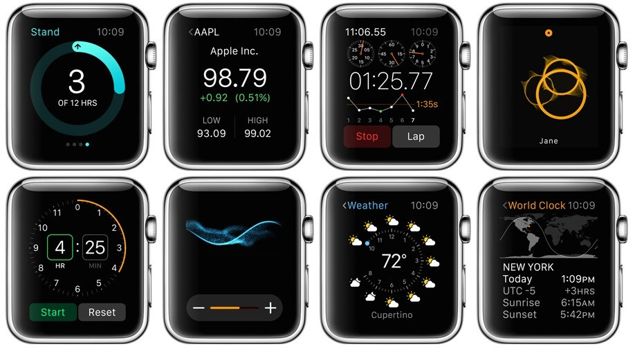 Apple Watch All The Watchfaces Apps And Designs
